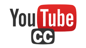 YouTube logo and Closed Captions logo