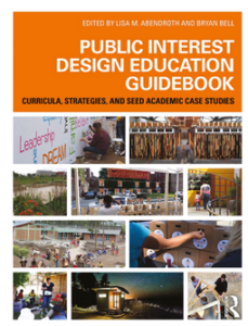 Cover of publication showing various people in design situations
