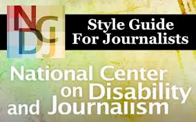 Front cover of the style guide.