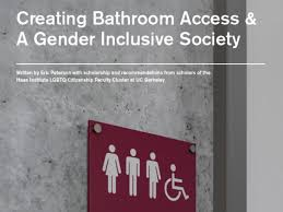 Front cover of Creating Bathroom Accessibility & Gender Inclusive Society.