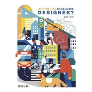 Front cover of inclusive designer book.