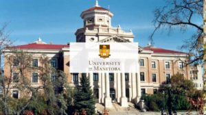The University of Manitoba is a grand university building.