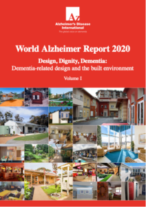 Front cover of the Design Dignity Dementia Report.