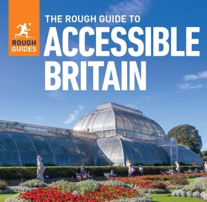 Front cover of the guide showing a large glasshouse in a garden.