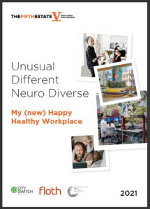 Front cover of happy workplace ebook.