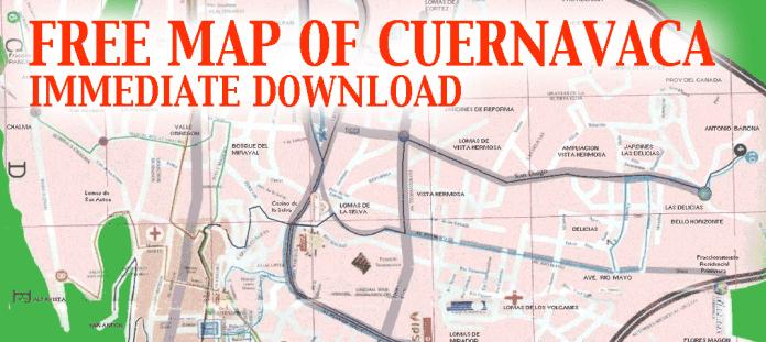 Cuernavaca-Map