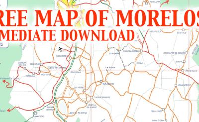 Map of Morelos