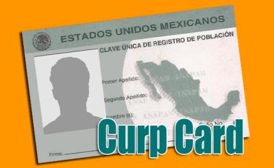 Curp-Card