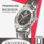 Vintage watch advert