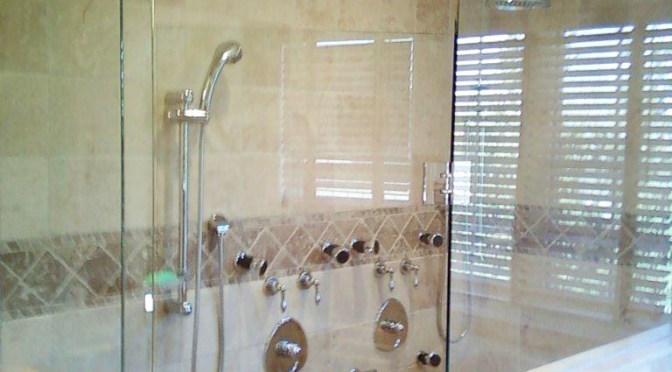 schluter system custom shower