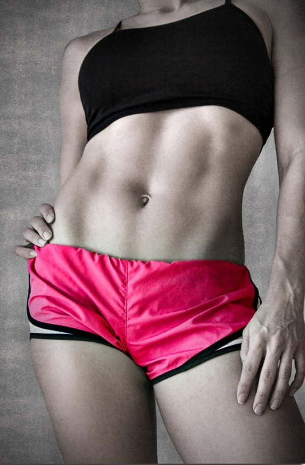 abs, fitness, female