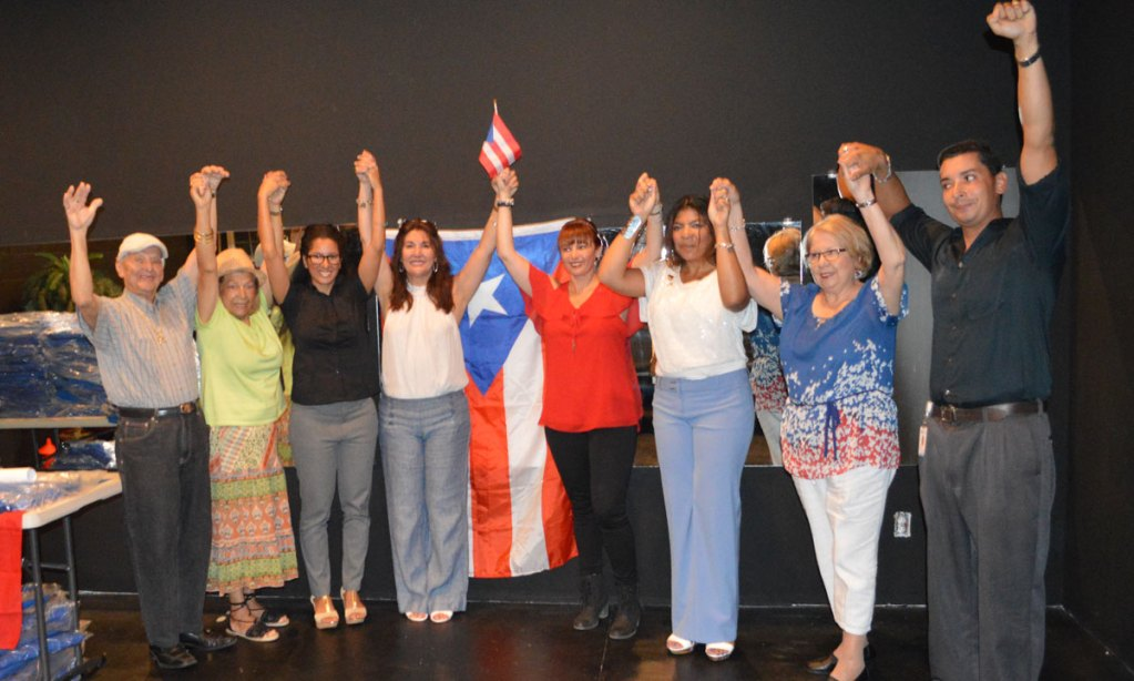Hispanos realizaron campaña de ayuda para las víctimas del huracán María en Puerto Rico