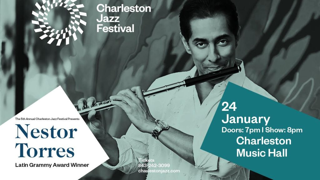 Nestor Torres, ganador del Premio Grammy Latino, se presentará en Quinto Festival de Jazz de Charleston