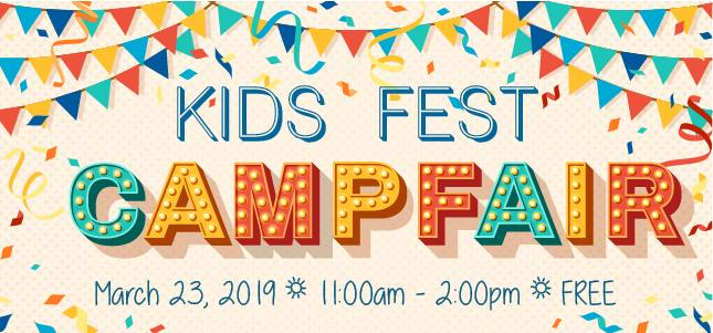 'Fest Camp' en el centro comercial Citadel Mall  el 23 de marzo