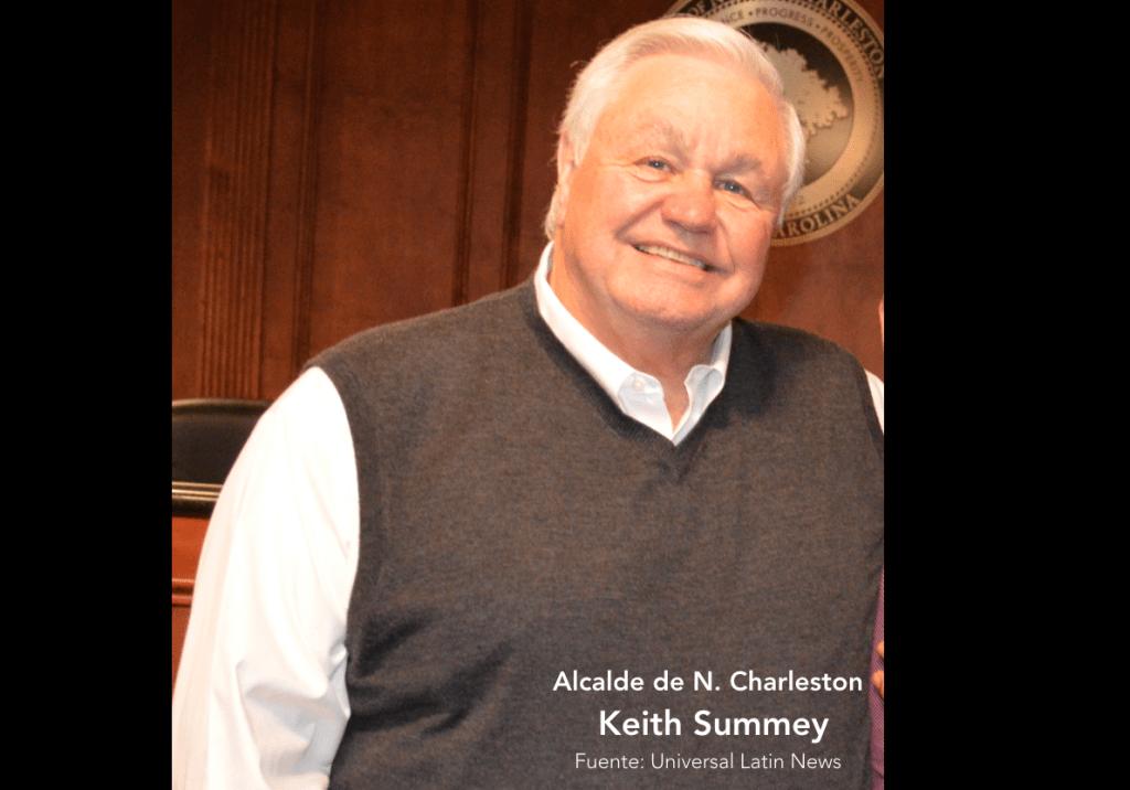 Keith Summey, gana la mayoría de votos como alcalde de North Charleston, en elecciones municipales de noviembre