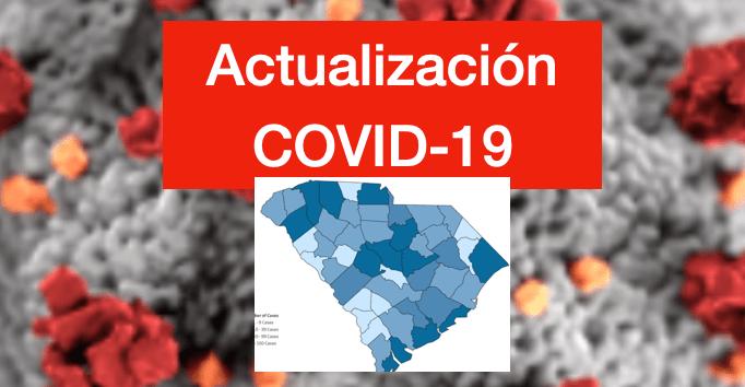 DHEC anuncia 38 fallecidos por COVID-19 y 1,537 nuevos casos de contagiados en Carolina del Sur