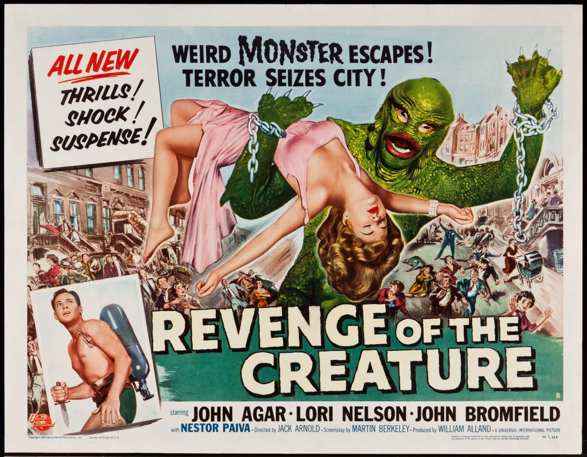 "It's Another Monster-Versary! ""Revenge of the Creature"" Turns 62!"