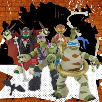 universal monsters ninja turtles