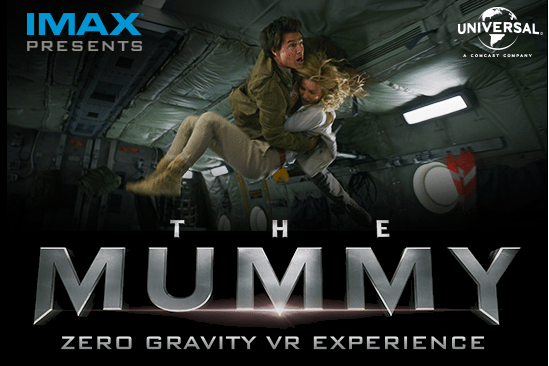 The Mummy Zero Gravity VR Experience