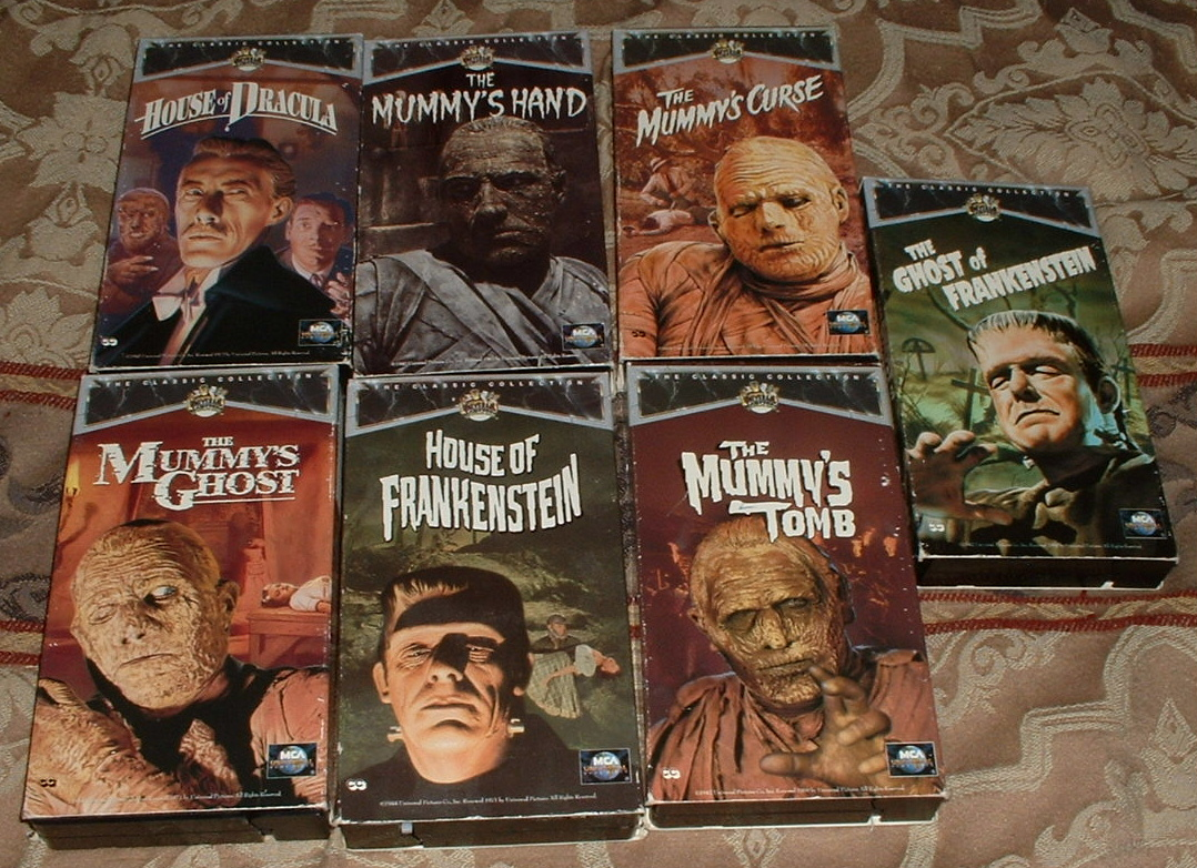 More Monsters! More Merchandise! A Brief Look At Universal Monsters on Video.
