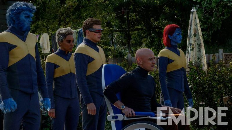 X-MEN DARK PHOENIX FOTO EMPIRE MAGAZINE