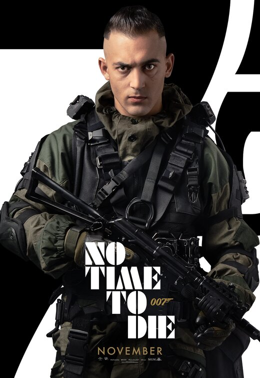 Valanga di characters poster da No Time to Die