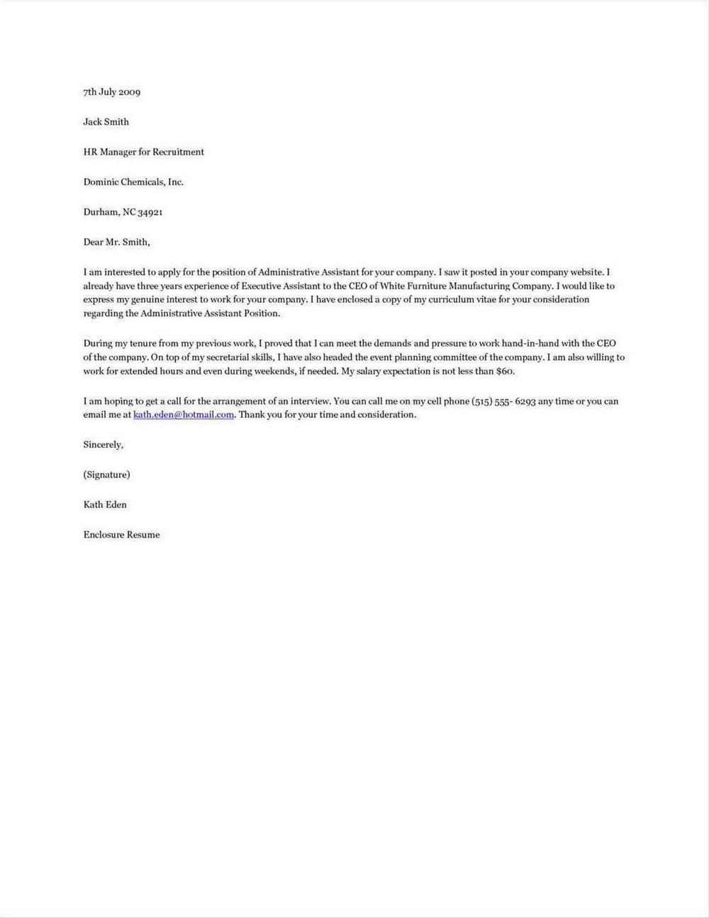 Apostille Cover Letter Sample California
