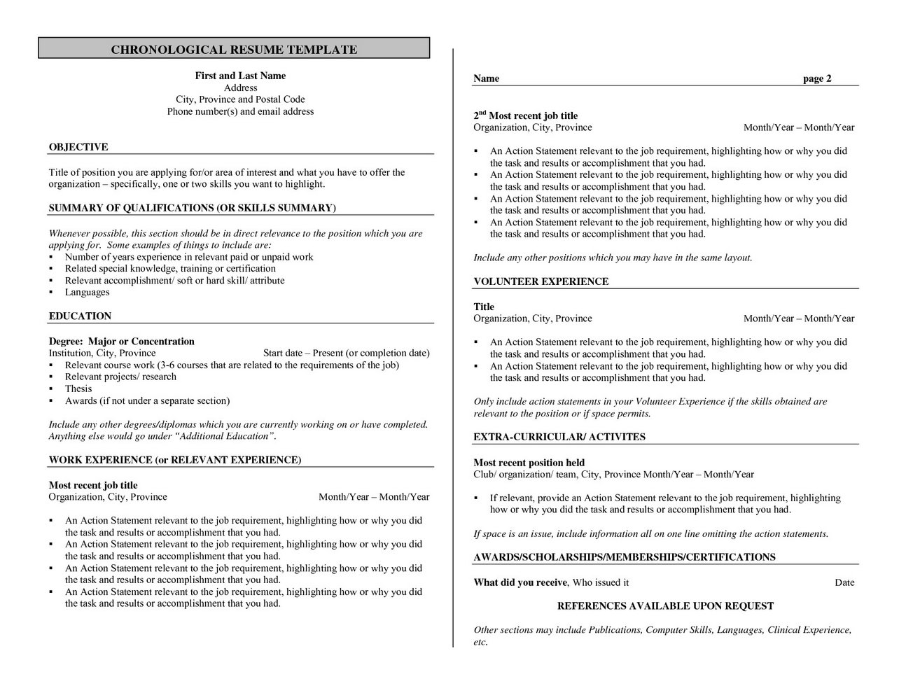 Bartender Job Description For Application