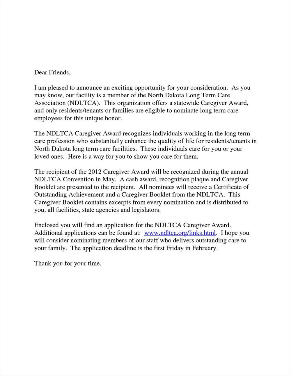 Cover Letter For Caregiver Without Experience