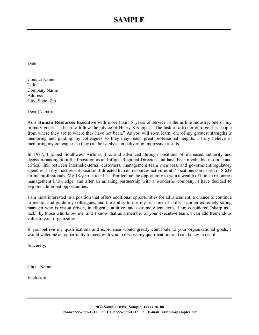 Free Cover Letter Templates Microsoft Word 2010