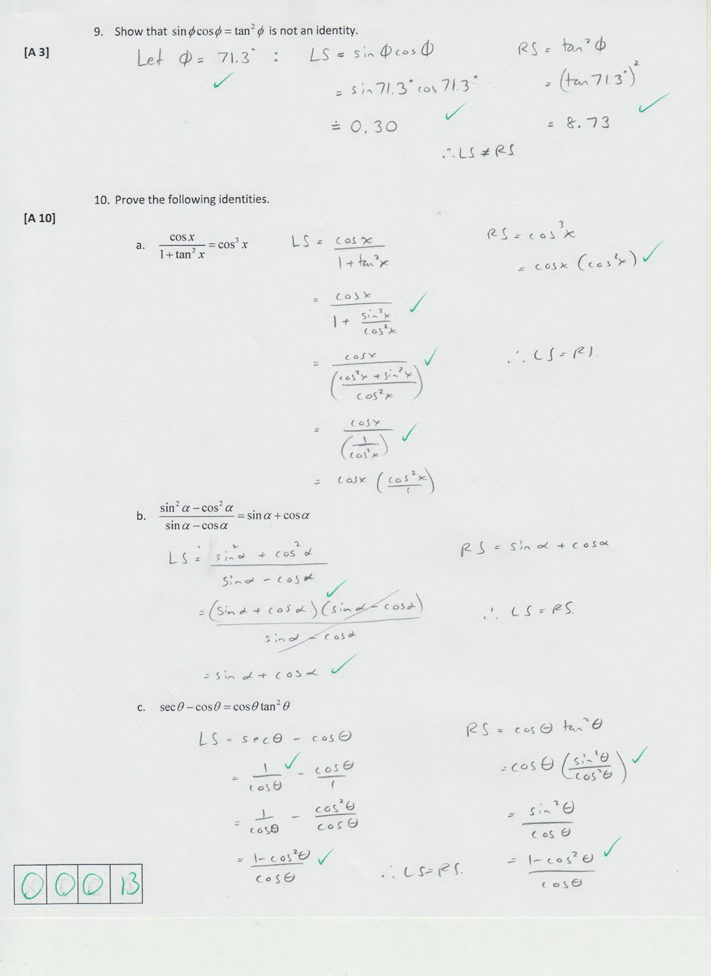 Grade 10 Math Analytic Geometry Worksheets