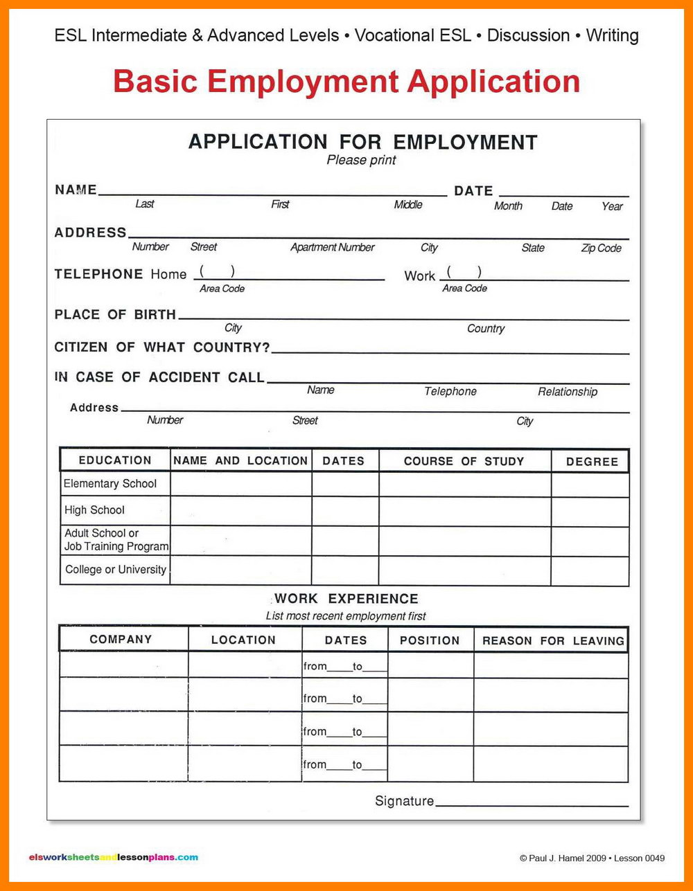 Levis Job Application Form Pdf
