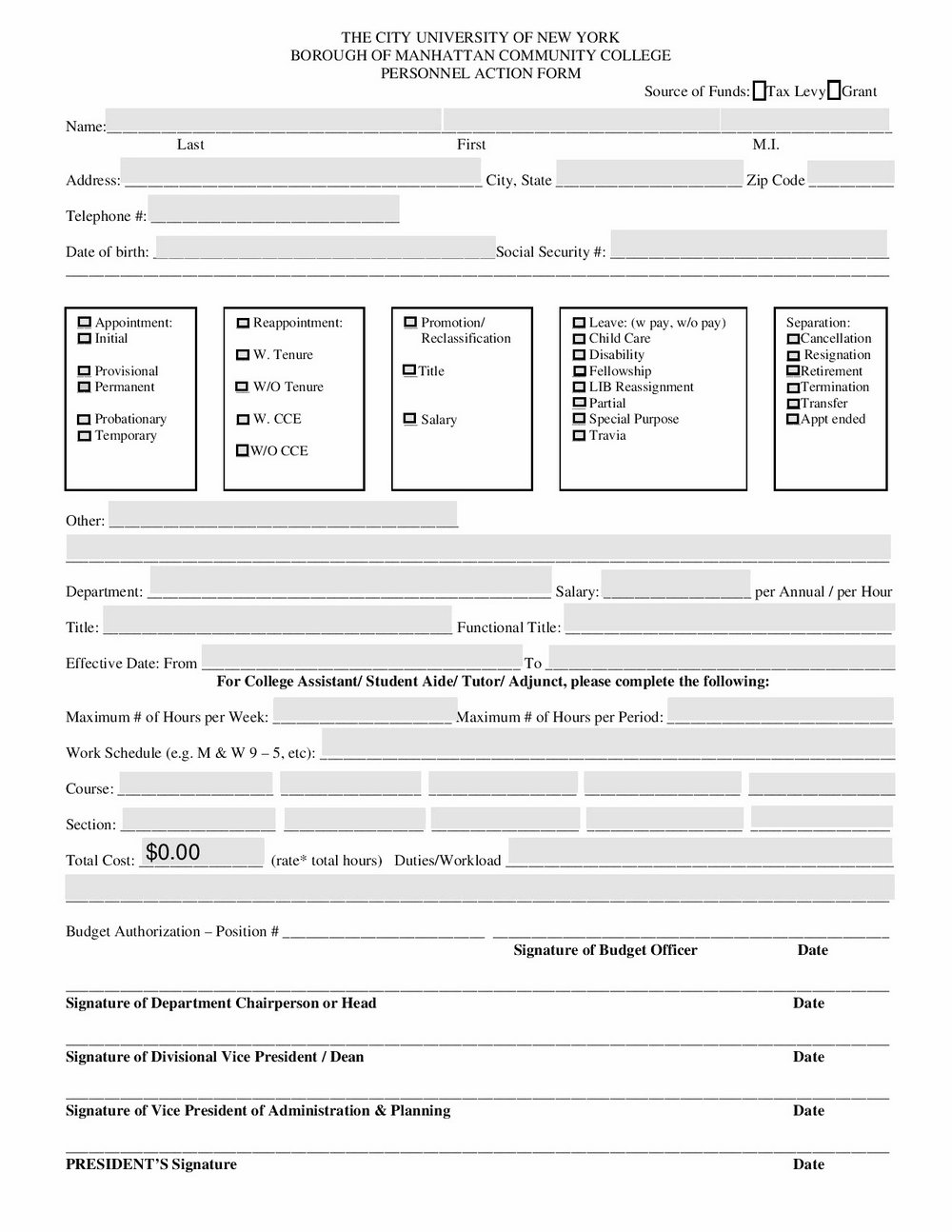 Vanguard Retirement Expense Worksheet