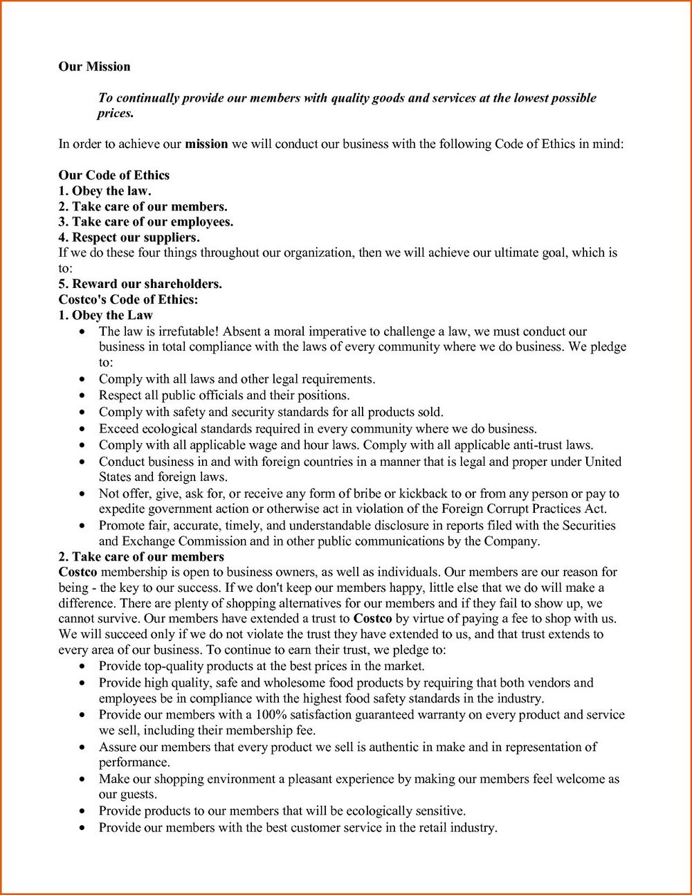Costco Job Application Process