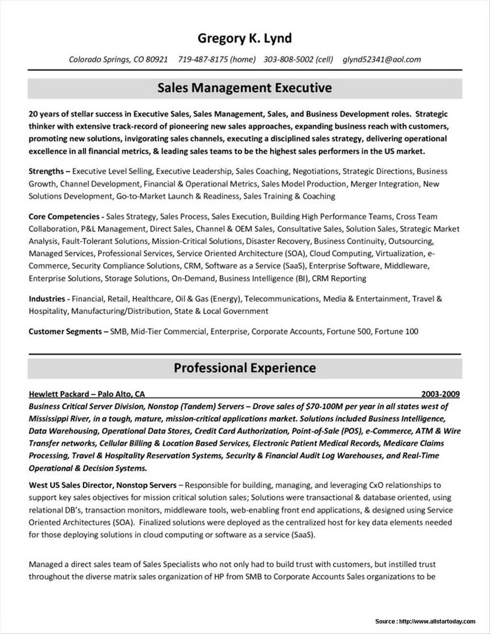 Don Goodman Resume Writing
