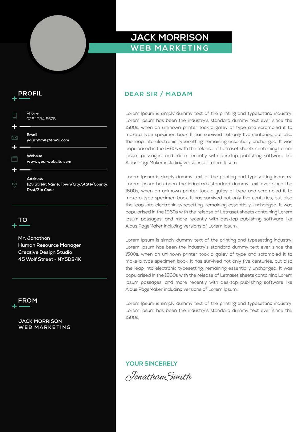 Free Digital Marketing Resume Templates