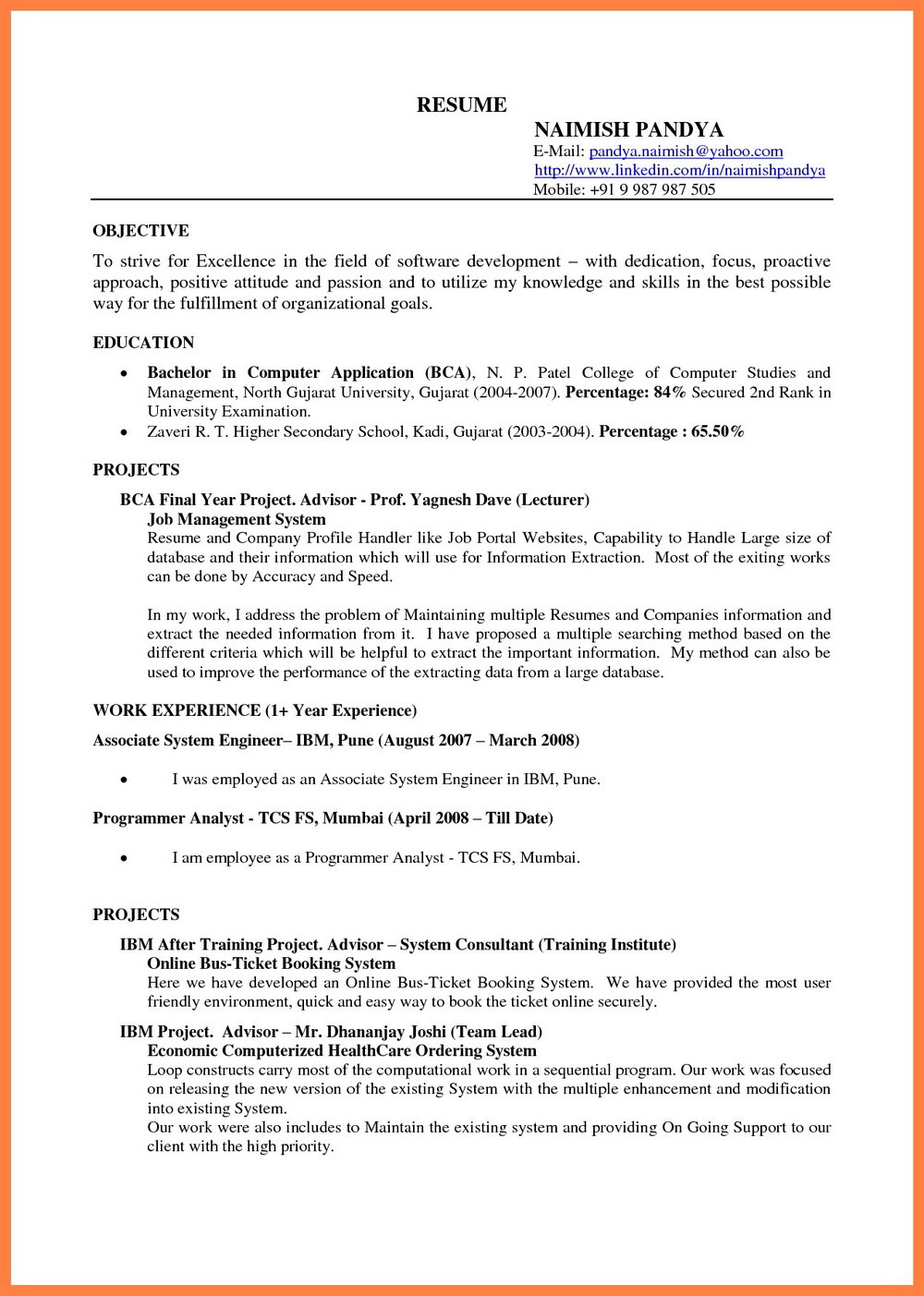 Free Google Drive Resume Templates