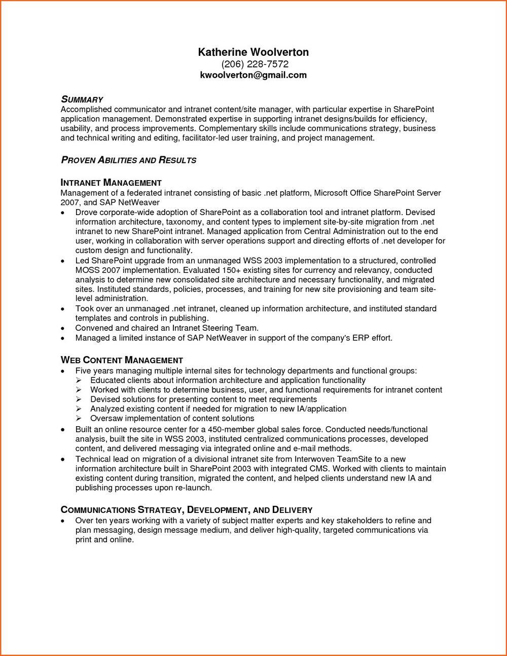 Free Medical Resume Templates Microsoft Word