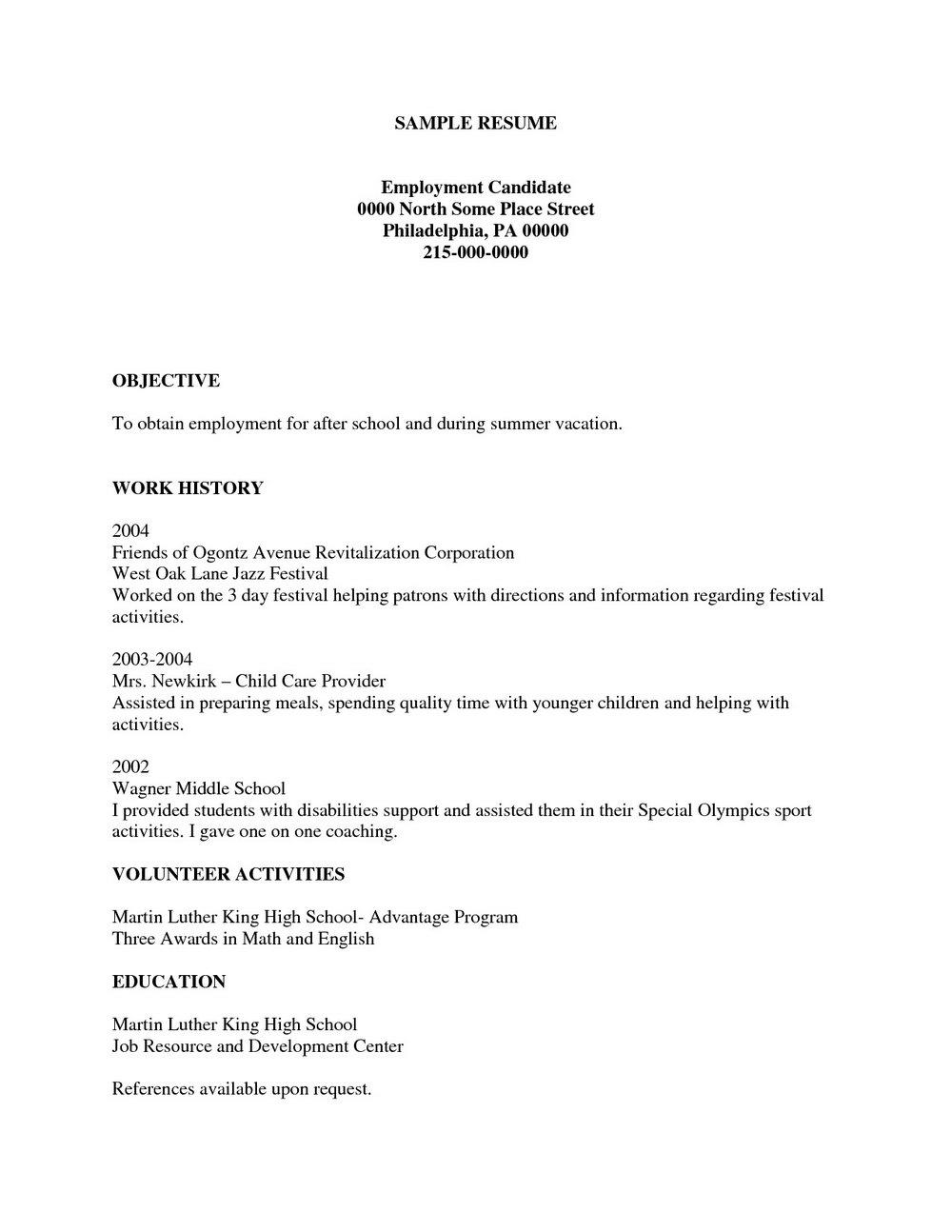 Free Online Resume Builder Reddit