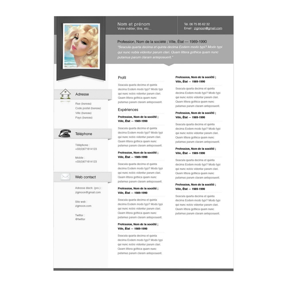 Free Resume Builder No Cost To Print