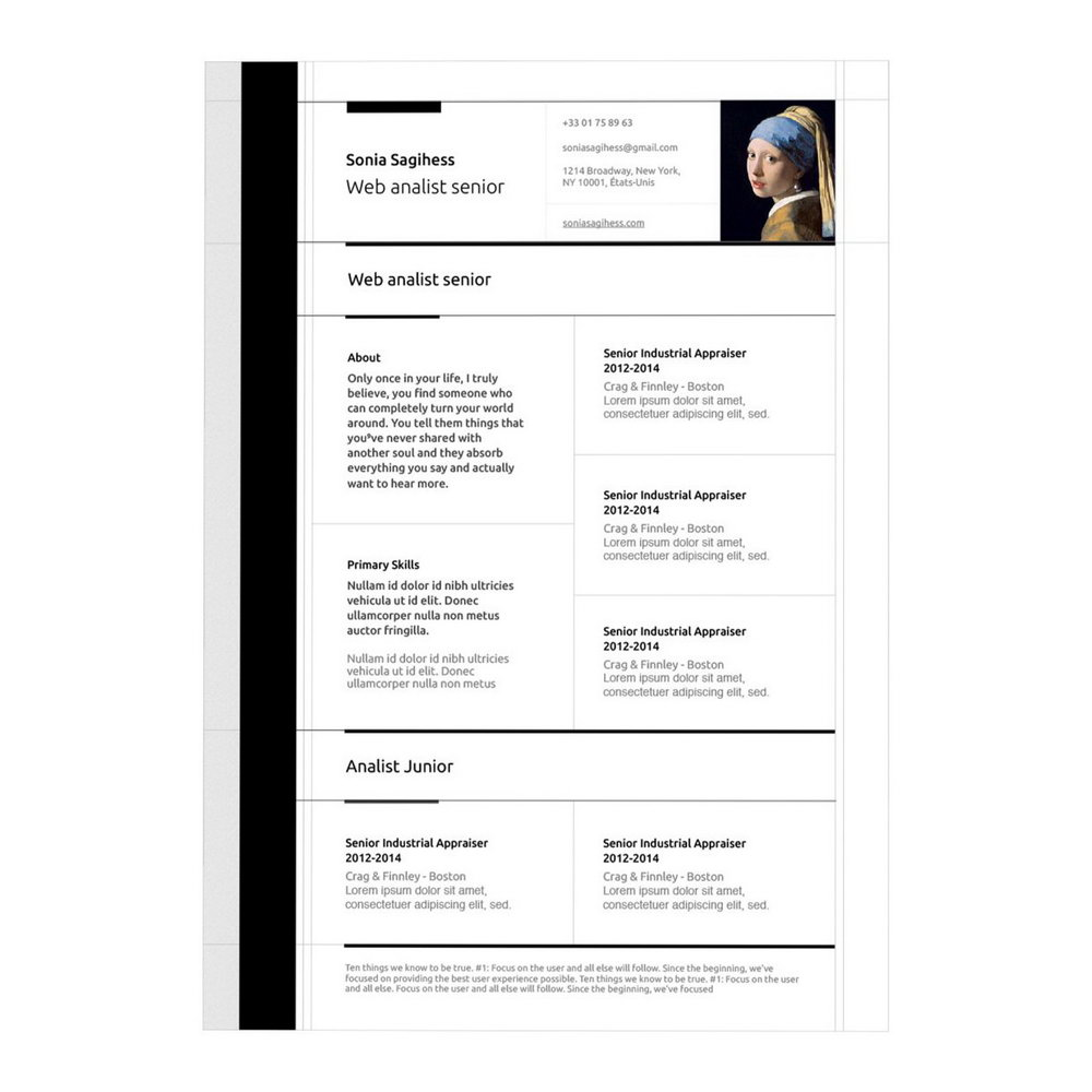 Free Resume Templates For Macbook Air