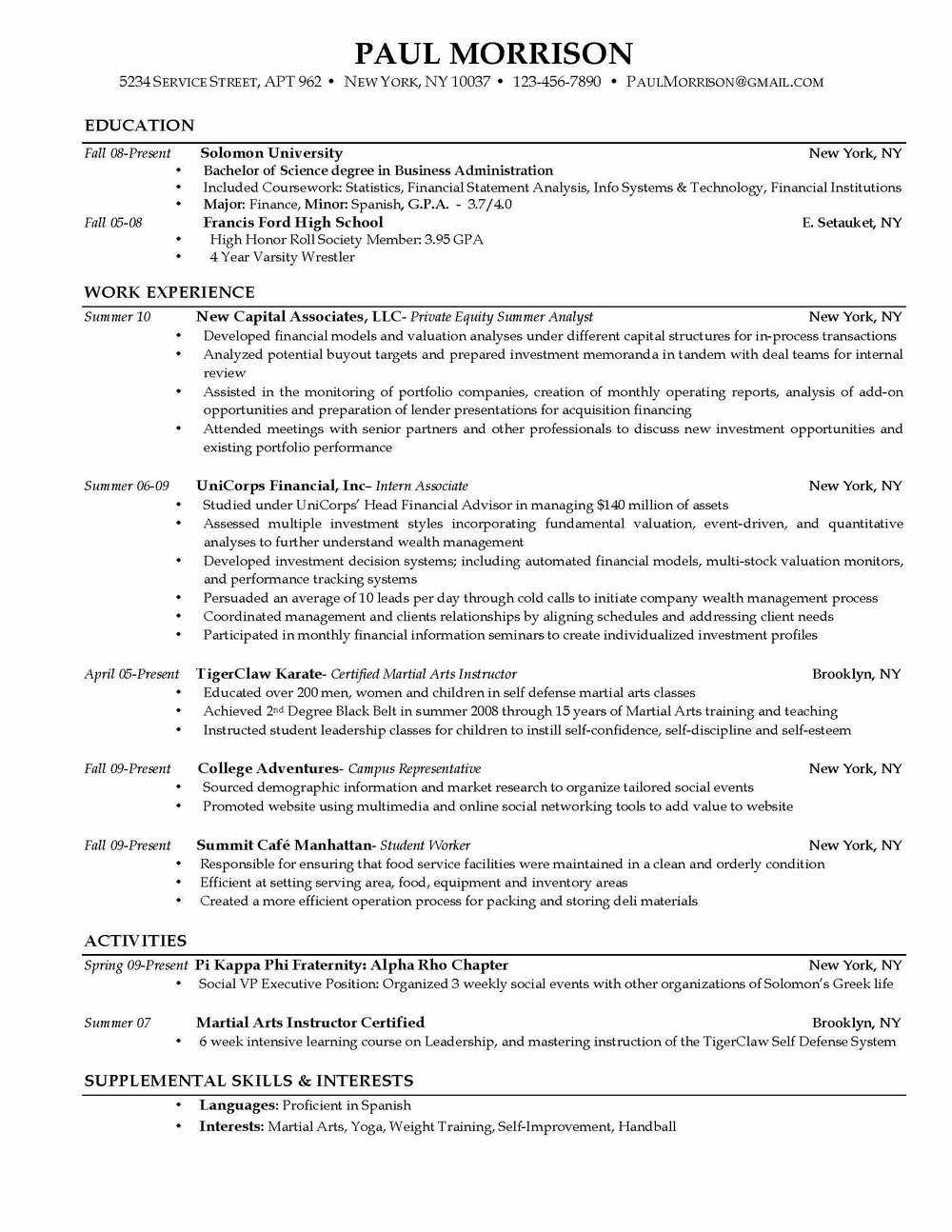 How Do I Find Resume Templates On Microsoft Word 2007