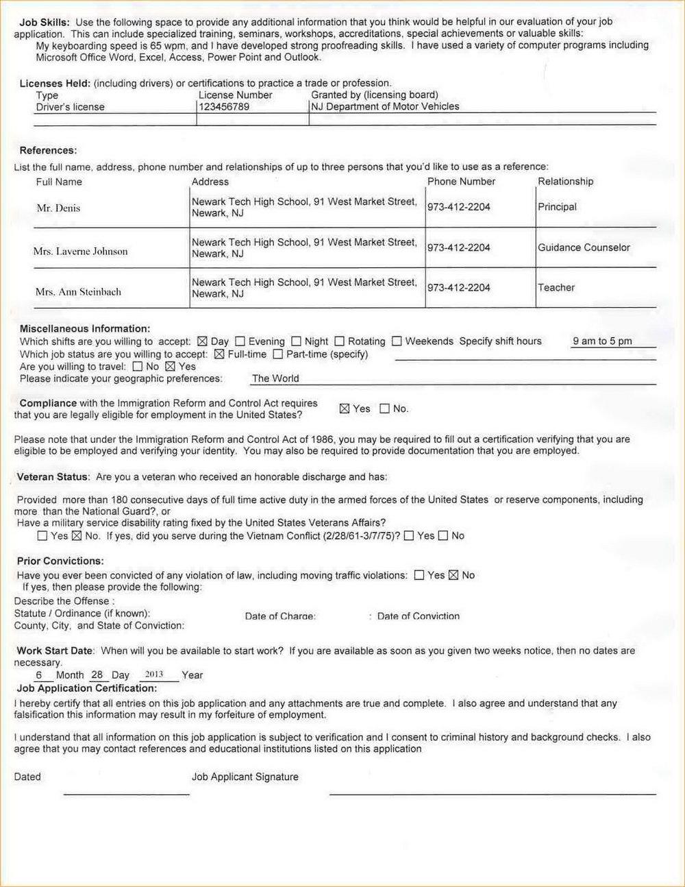 Job Application Cover Letter For Usps