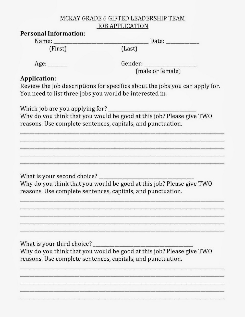 Mcdonalds Job Application Form Online Apply Now Malaysia
