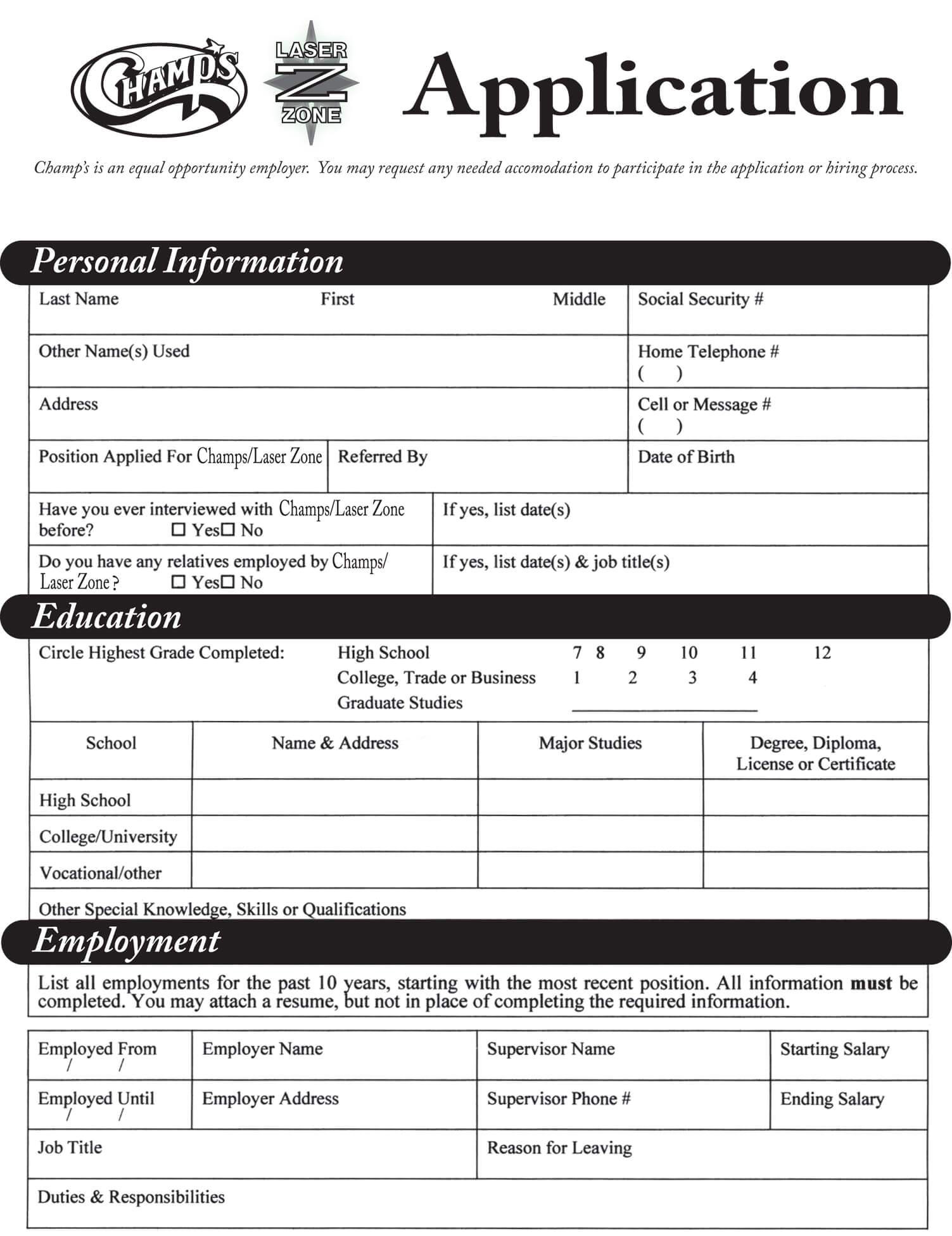 Mcdonalds Online Job Application Pdf
