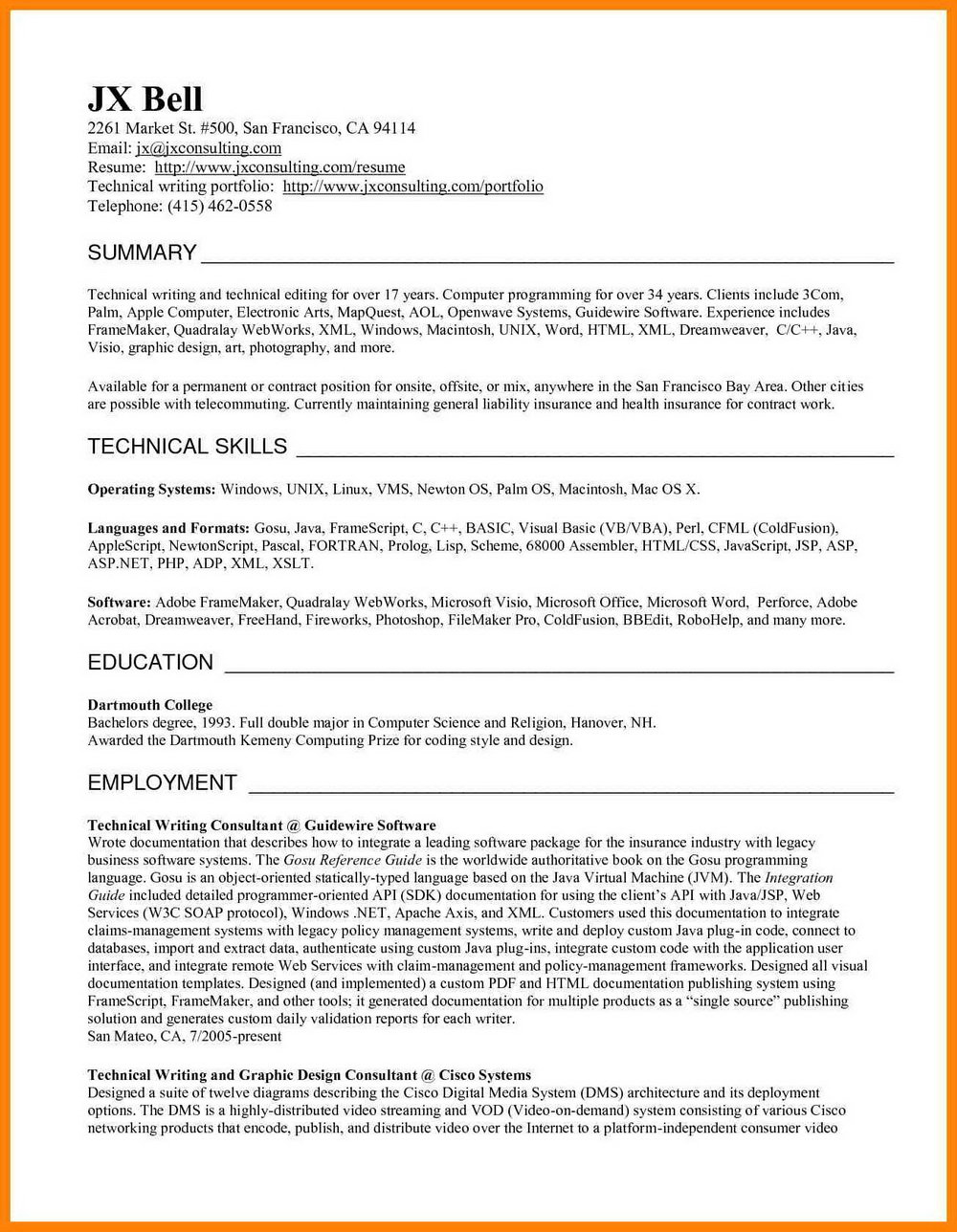 Professional Resume Writing San Diego