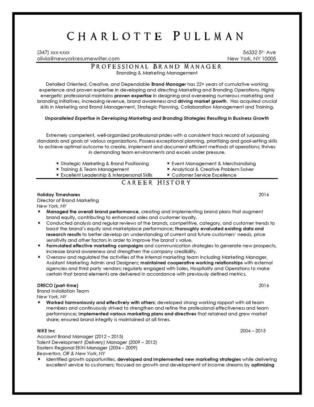 Professional Resume Writing Services Toronto