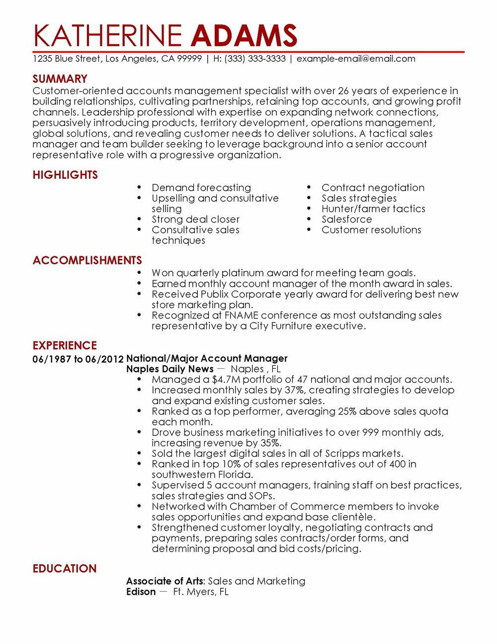 Resume Builder Customer Service Skills