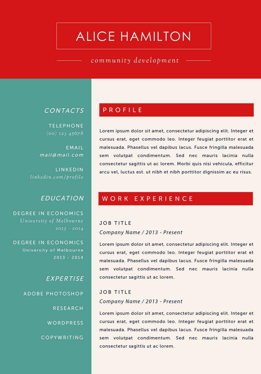 Resume Builder For Mac Free