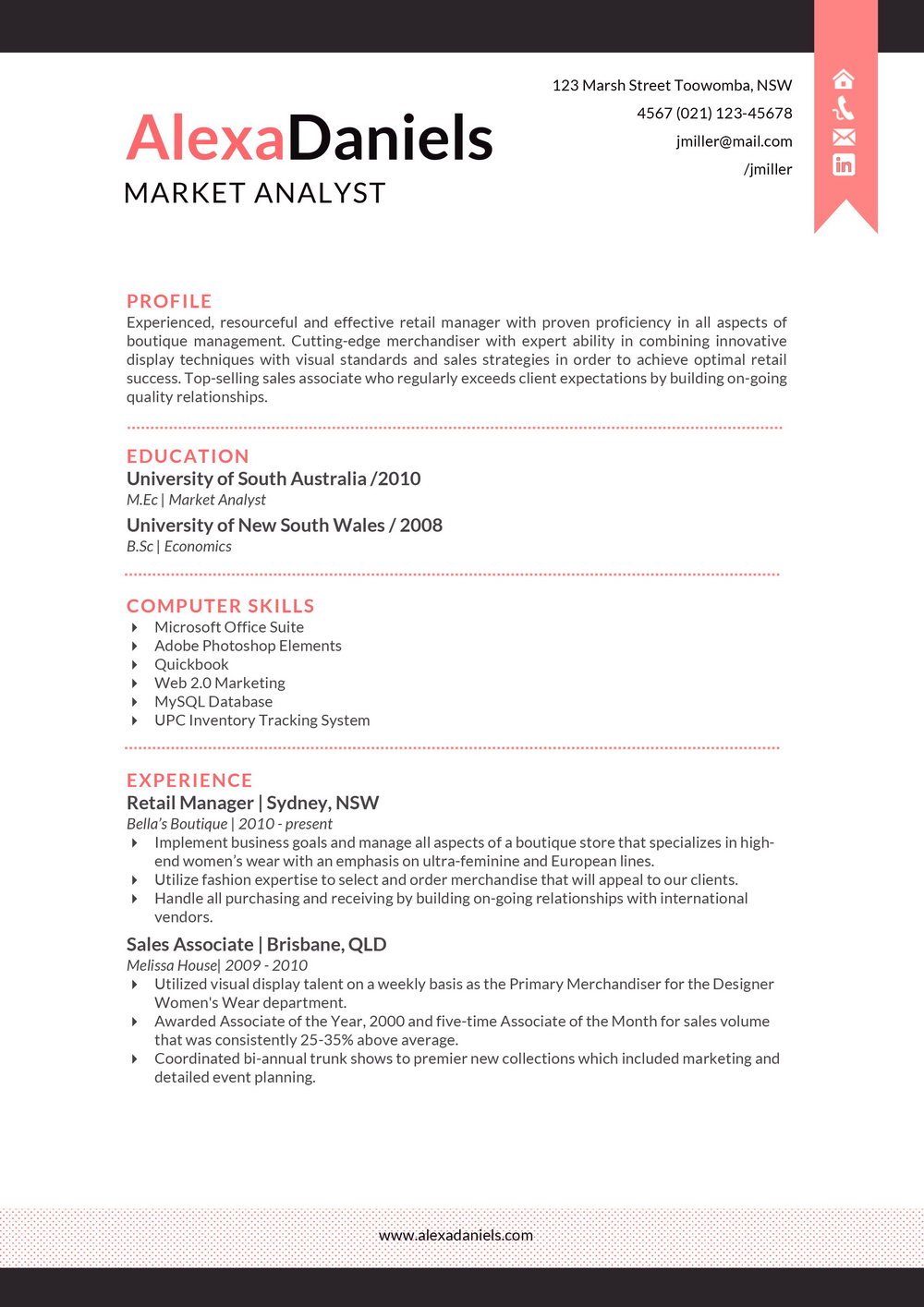 Resume Format Free Download In Ms Word For Freshers